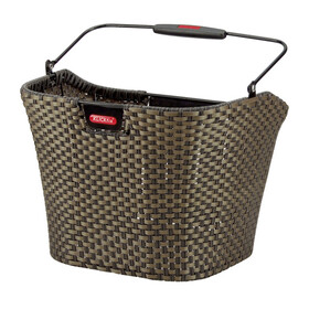KlickFix Structura Bike Basket brown